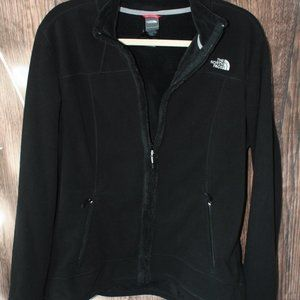 GUC The North Face Black Jacket XL F12 Fleece SOFT